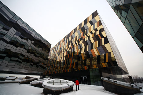 Skolkovo's aesthetic reflects its program goalsSource: RIA Novosti