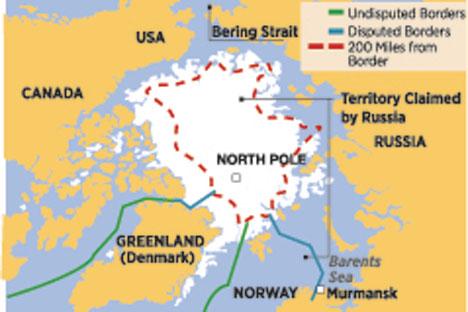 Arctic Claims. By Elena Shagaeva