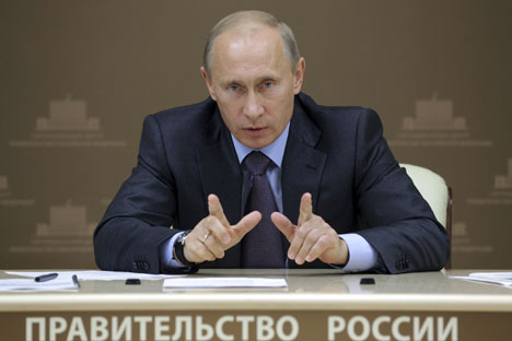 Mr Putin is looking for serious overseas offersSource: Reuters / Vostock Photo