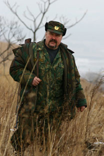 Anatoly Belov has fought poachersalong the Russia-China border for22 yearsSource: WWF