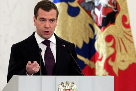 Medvedev' State of the Nation speech focused on childrenSource: Getty Images/Fotobank