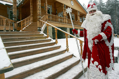 "Santa Claus is known as ""Grandfather Frost"" in RussiaSource: PhotoXpress"