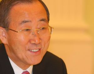 Ban Ki-moon, Secretary-General of the UN