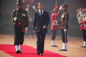 Medvedev visiting India