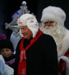 Yury Luzhkov & Ded Moroz