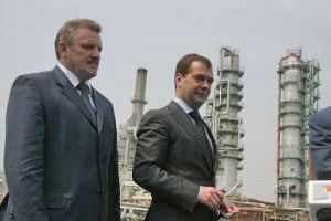 Medvedev in Khabarovsk