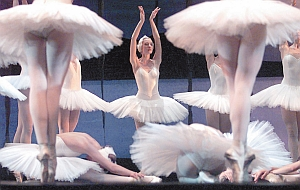 The Mariinsky's ballet troupe is considered among the world's best. Here, they perform a scene from Tchaikovsky's Swan Lake