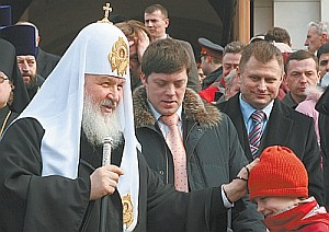 Patriarch Kirill, in his job for less than a year, is encouraging the Church to engage with all parts of society