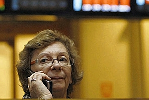 elderly can earn their pensions by playing the stock exchange