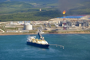 First Russian liquefied natural gas (LNG) plant constructed on Sakhalin