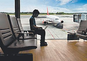 High-speed wireless internet is available in allof Moscow's airports