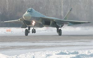 Russian fifth-generation T-50 PAK FA fighter