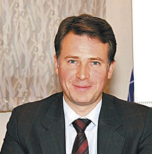 Comstar CEO Sergei Pridantsev is optimisticabout the communications market