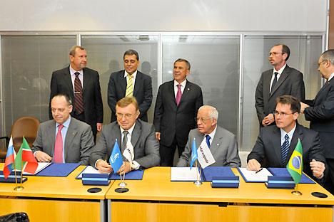 Foto: Assessoria de imprensa do presidente do Tatarstan