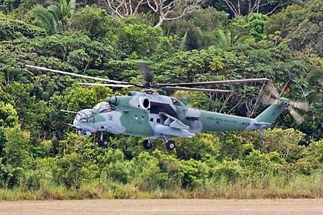 Mi-35M (designação brasileira: AH-2 Sabre) Foto: RIA Nóvosti