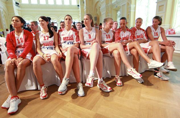 Репрезентативки на Русија во кошарка.