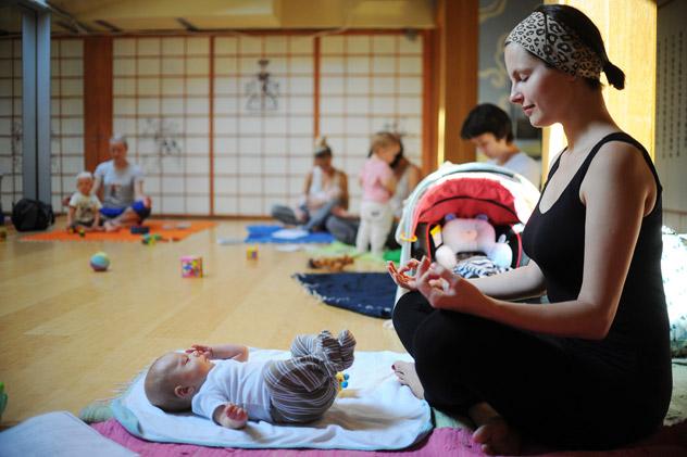 El yoga, práctica prohibida en la URSS.