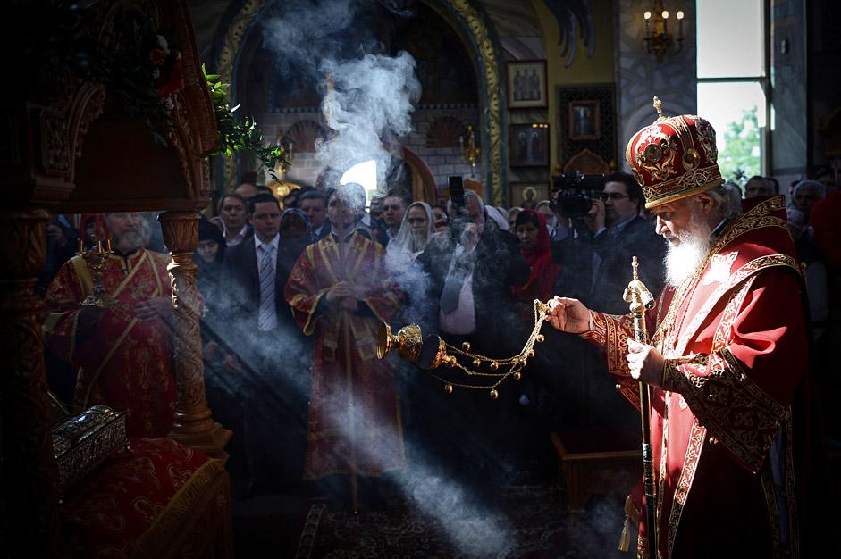 Le patriarche de Moscou Cyrille.