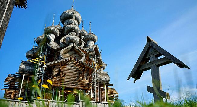 iglesias de madera