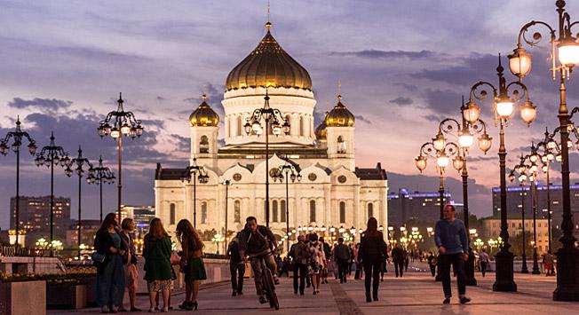 Brand new Moscow walks: From Kropotkinskaya to Gorky Park