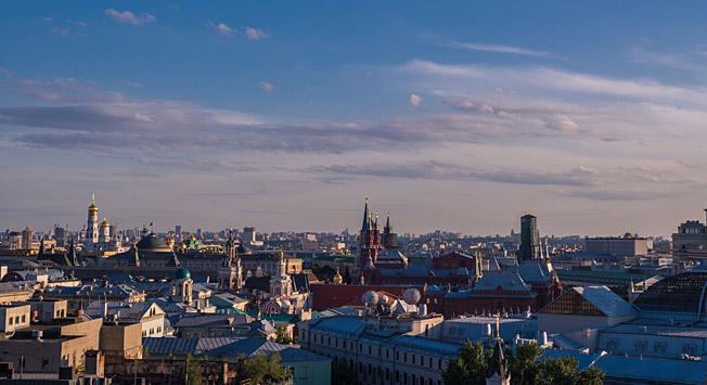 Moskva. Vir: Jelena Larionova