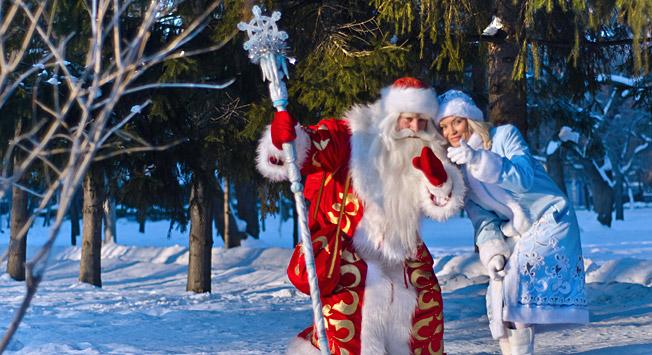Ded Moroz e Snegurochka. Fonte: Shutterstock/Legion-Media