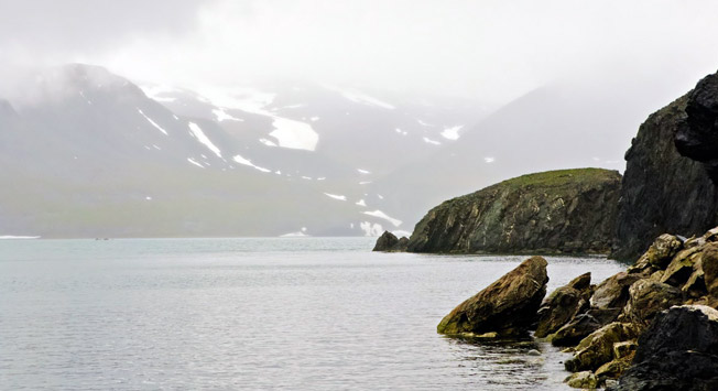 The Murmanryba rescue boat that is on duty in the Barents Sea has been sent to rescue the trawler with nine fishermen. Photo: The Barents Sea.