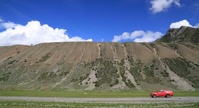 Caminho de Tchui em Altai Foto: strana.ru