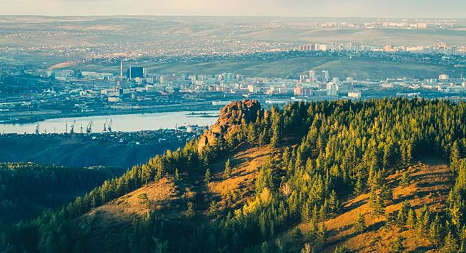 Krasnoyarsk tiene grandes posibilidades para la aceleración económica. Fuente: Sergéi Fílinin