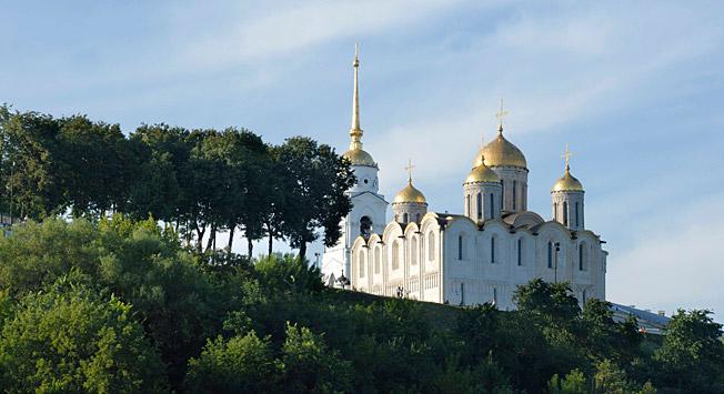Uspenska katedrala v Vladimirju.