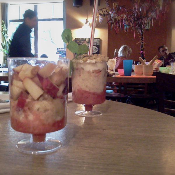Sunday. Parfaits in a café may be a relaxing Sunday afternoon activity for many Muscovites, but not, sadly, for the busy waiter. This summer the Moscow City Government announced plans to expand the city's restaurant culture – currently there is only one restaurant for every 1,500 people.