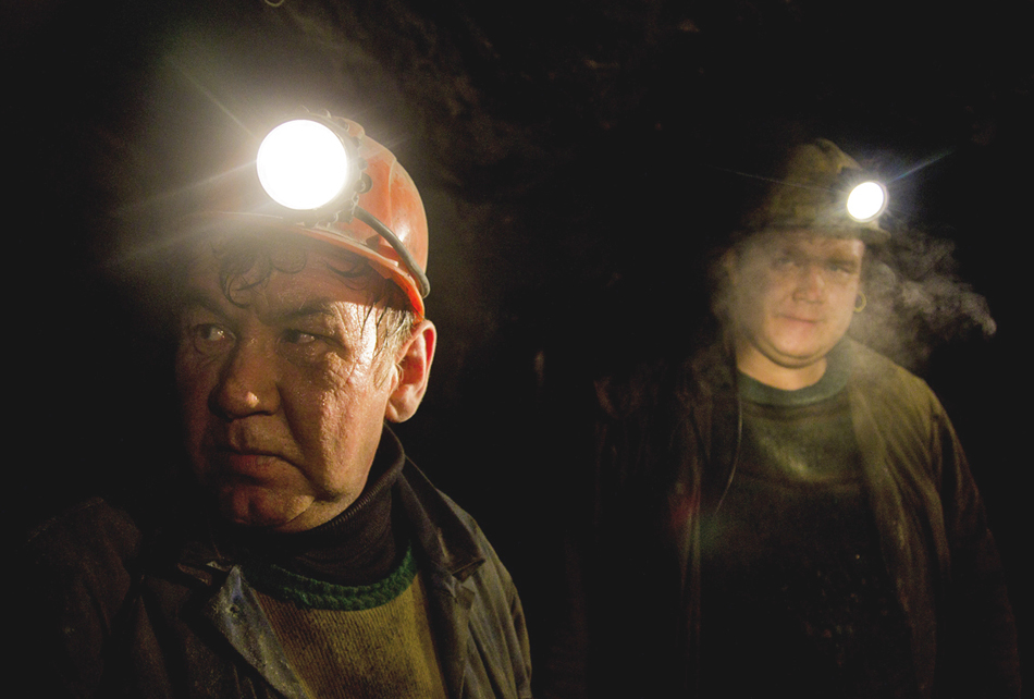 Alla vigilia della Prima Guerra Mondiale, le miniere e cave sono state recostruite seondo le ultime tecnologie.Dopo la Gurra Civile Russa, tutte le miniere sono state allagate e gli impianti dell'estrazione d'oro si sono andati in rovina