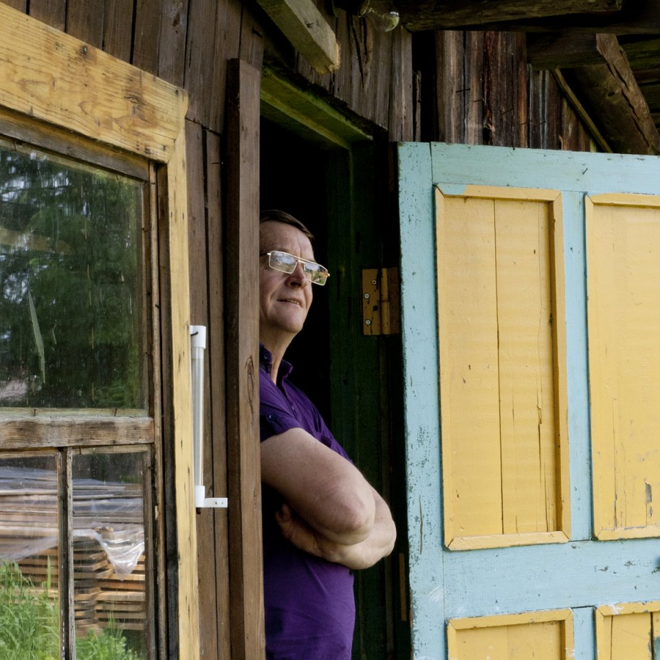 """Aleksandr Miroshnikov, 58 anni, gioielliere, a Chusovoe dal 1989: """"La natura di questi luoghi è strabiliante"""""""