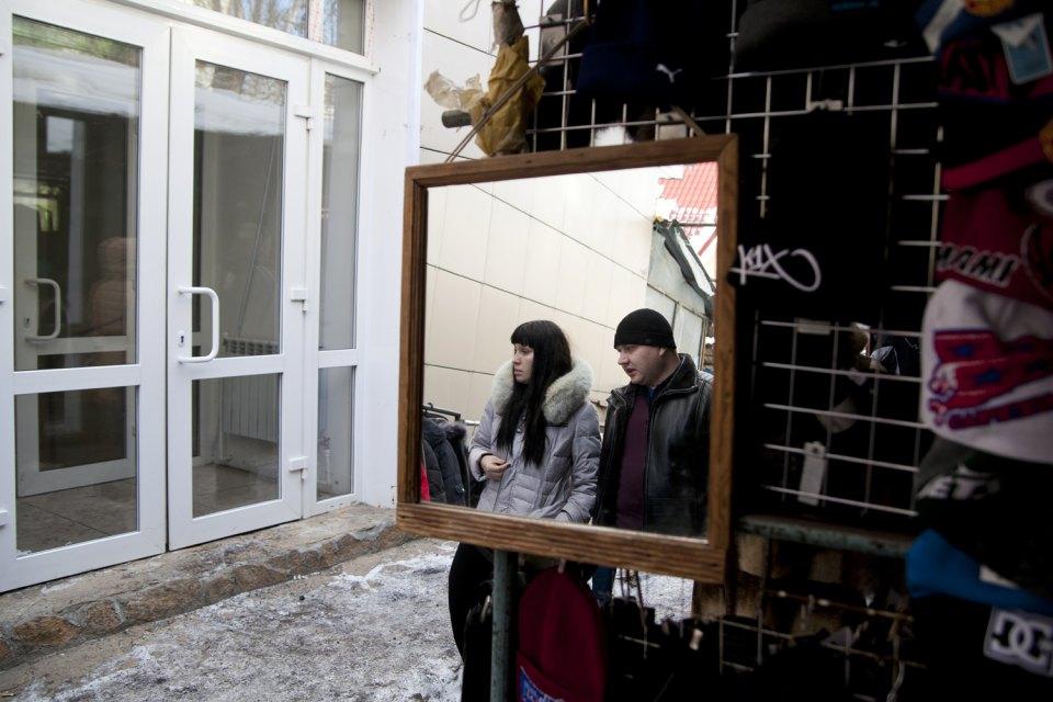 Buona parte dei prodotti provengono dalla Cina. Talvolta si vedono persone vendere prodotti tradizionali russi, come i valenki, i tradizionali stivali di velcro, o gli scialli