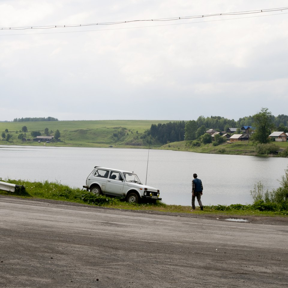 The mouth of the Shaytanka river used to operate a wharf from which barges packed with iron would depart in spring. Here also was one of two harbors on the Chusovoy river for barges (the other was in the village of Ust-Utka).
