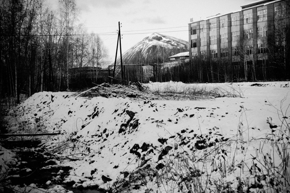Degtyarsk (1100 miles away from Moscow) is a mining town, founded in 1914 on the site of the Degtyarskoye pyrite deposits.