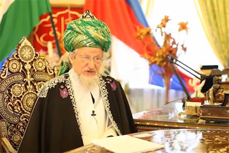 Mufti Agung Rusia Talgat Tadzhuddin.