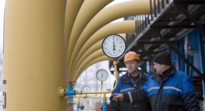 Cooperação entre os mercados mundiais de gás é tema-chave da reunião desta segunda-feira Foto: Ivan Rudnev \ RIA Nóvosti