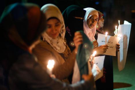 Histórias de raptos assustam a população civil síria. Corre entre as pessoas muitas histórias sobre tortura e estupro de meninas Foto: Reuters