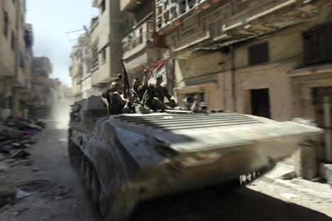 """""""Constitui-se a impressão de que o conflito está desaparecendo gradualmente, mas a situação na Síria permanecerá instável por muito tempo"""" Foto: AFP / EastNews"""