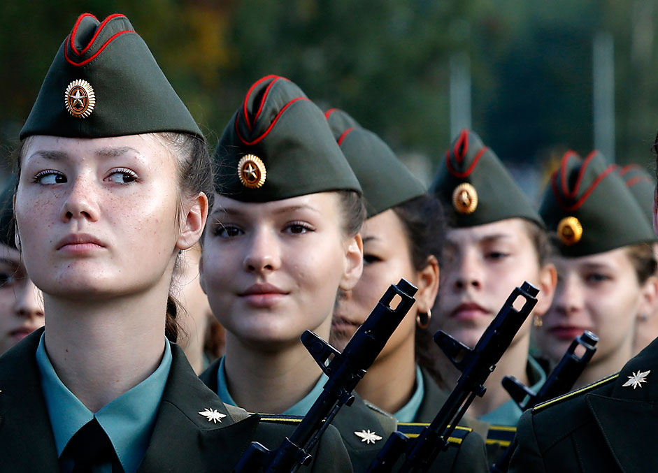 ejército femenino en Rusia