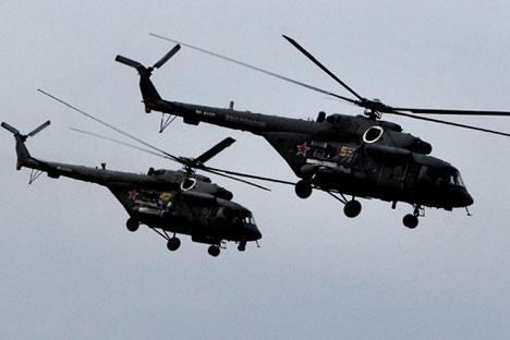 Sistemas de helicópteros Mi-8MTPR-1 Foto: Vitáli Lankov/RIA Nóvosti