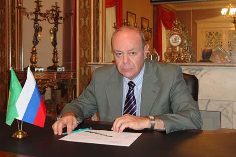 Cônsul-geral da Rússia em São Paulo, Mikhail Troiánski Foto: Arquivo pessoal
