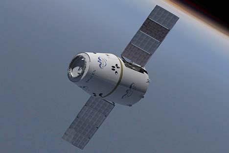 Primeira nave espacial construída pela empresa privada Ilustração: Nasa