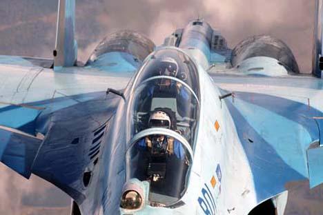 O novo revestimento é utilizado no avião de caça Su-30 Foto: sukhoi.org