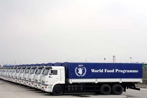 Os caminhões doados somam US$ 2,7 milhões Foto: kamaz.ru