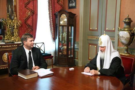 Foto original foi publicada pelo site da Igreja na quinta-feira (5) Foto: p2.patriarchia.ru