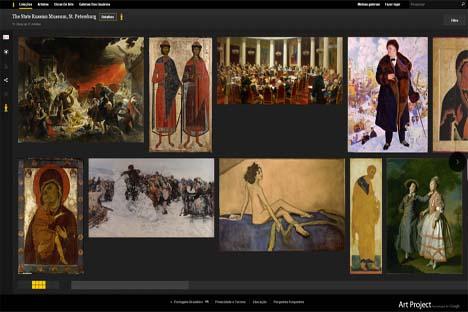 50 peças da coleção do Museu Russo foram escaneadas em alta resolução e serão exibidas no Google Art, um acervo on-line de artes visuais dos principais museus do mundo