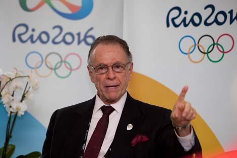 """Nuzman: """"Os próximos jogos Olímpicos de Sôtchi e do Rio serão dirigidos por dois russos, eu e meu amigo Tchernichenko"""" Foto: Divulgação"""