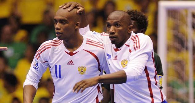 Jogadores de salão Pula e Cirilo receberam cidadania russa Foto: LegionMedia